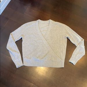 Splendid Crossover Sweater